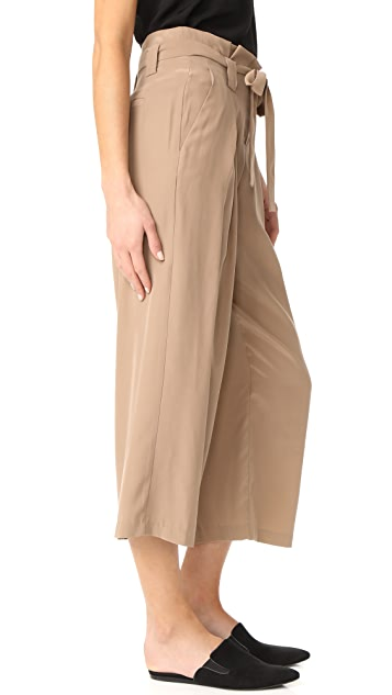 L'AGENCE Samira Wide Paper Bag Pants