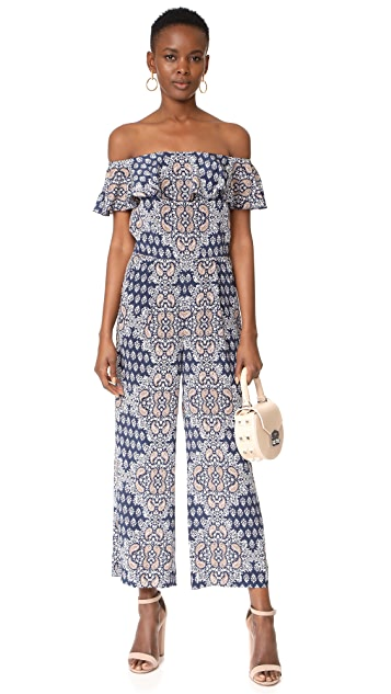 L'AGENCE Nicolle Ruffle Jumpsuit