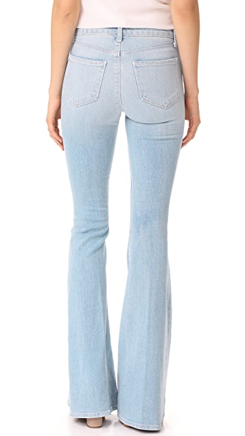 L'AGENCE The Solana Big Flare Jeans
