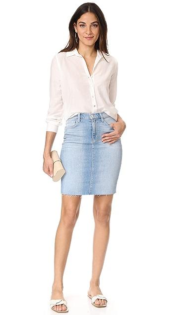 L'AGENCE Montecito High Ride Skirt