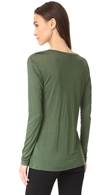 L'AGENCE Long Sleeve Tee