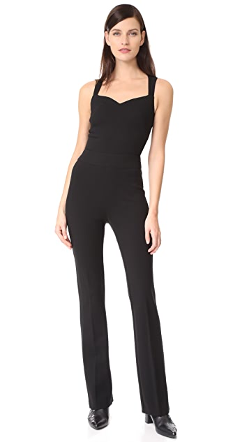 L'AGENCE Shay Open Back Jumpsuit