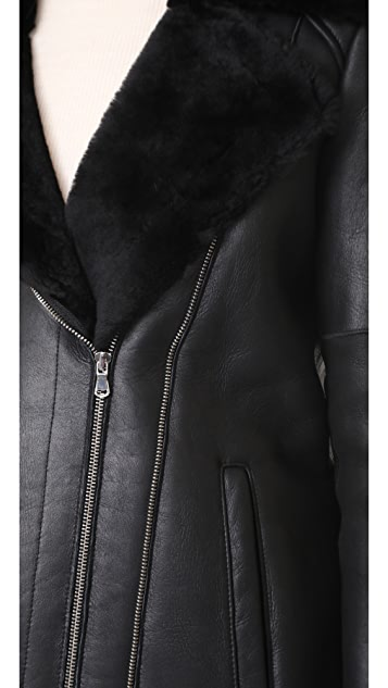 L'AGENCE The Brando Moto Jacket
