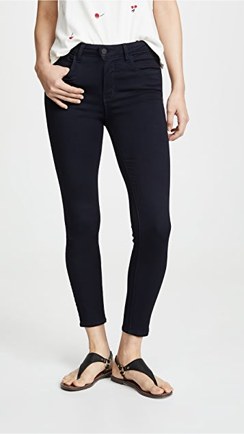 L Agence Margot High Rise Lightweight Ankle Skinny Jeans