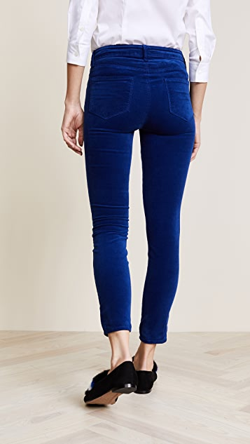 L'AGENCE Margot High Rise Ankle Skinny Pants