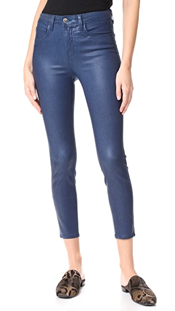 7e6ef6bb98e66 Margot High Rise Skinny Coated Jeans