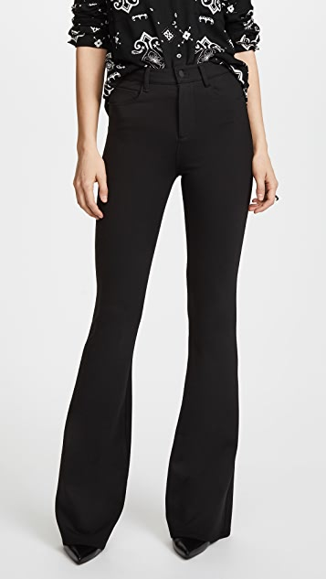 L'AGENCE Lola High Rise Bell Bottom Pants