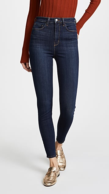 43477fdc550bf L AGENCE Katrina Ultra High Rise Skinny Jeans