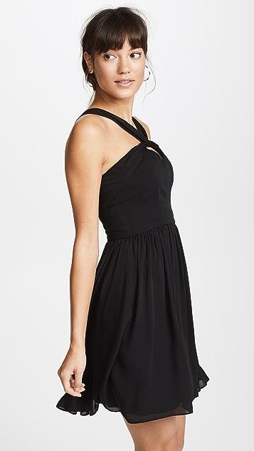 L'AGENCE Valetta Keyhole Dress
