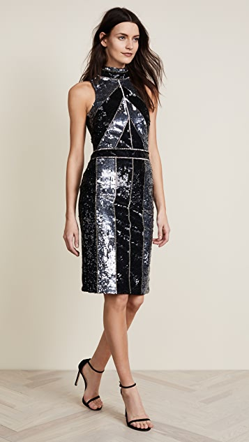 L'AGENCE Rashmi Sequin Dress