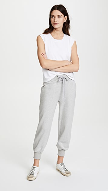 L'AGENCE Kosmo Lace Up Sweatpants