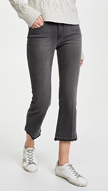 L'AGENCE Serena Crop Baby Flare Jeans