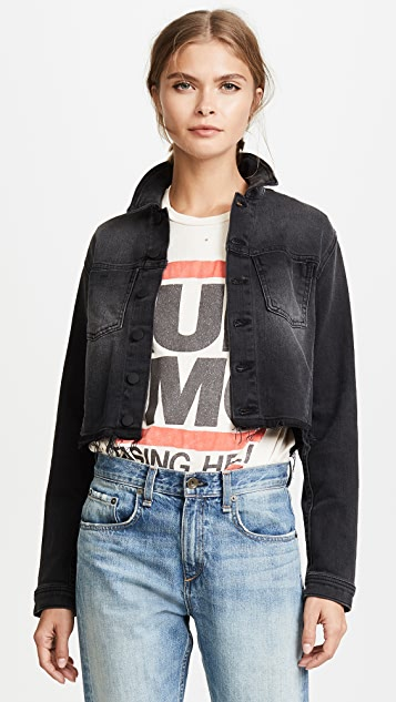 L'AGENCE Zuma Lace Up Jacket
