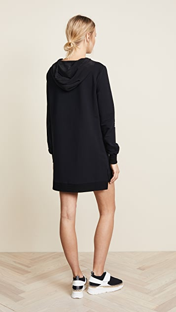 L'AGENCE Athene Hoodie Dress