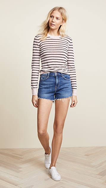L'AGENCE Ryland High Waist Shorts