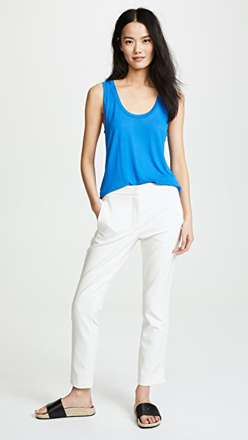 L'AGENCE Perfect Sleeveless Tee