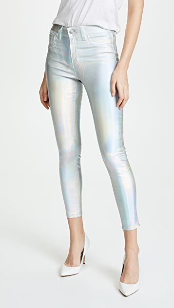 L'AGENCE Iridescent Skinny Jeans | SHOPBOP