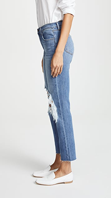 L'AGENCE Daria Cropped Jeans