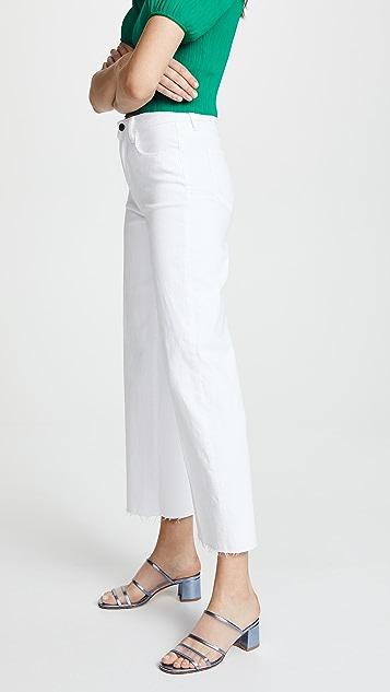 L'AGENCE Danica Wide Leg Jeans