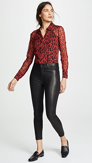 L'AGENCE Adelaide Ankle Skinny Pants