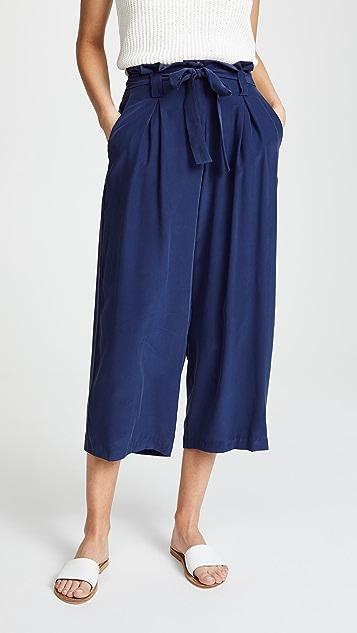 L'AGENCE Samira Wide Paperbag Pants