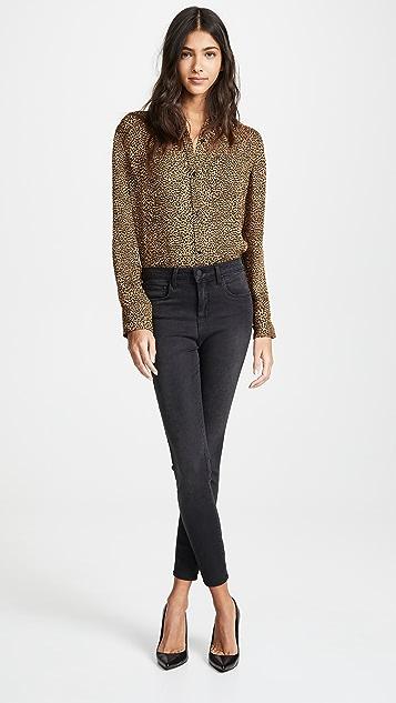 L'AGENCE Margot 牛仔裤
