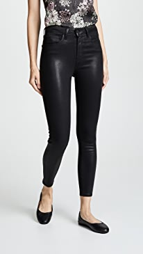 Margot Coated Skinny Jeans