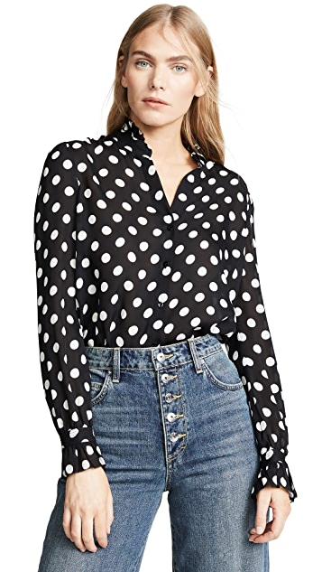 L'AGENCE Викторианская блуза Carla