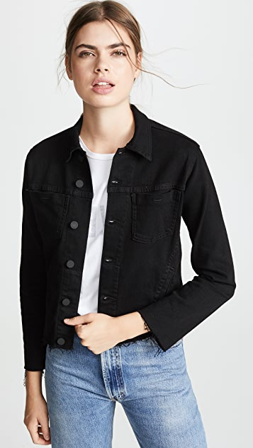 L'AGENCE Janelle Slim Raw Jacket