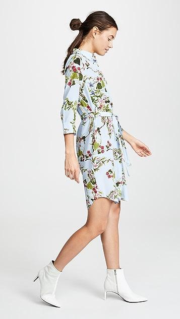 L'AGENCE Stella 衬衣式连衣裙