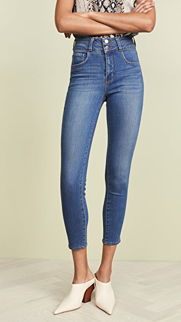 L'AGENCE Peyton High Rise Skinny Jeans