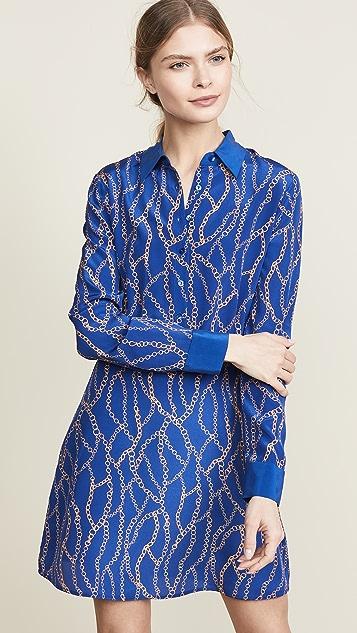 L'agence Dresses Estelle Mini Shirt Dress