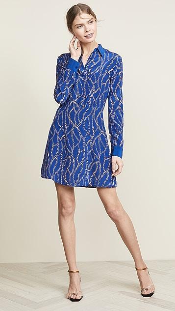 L'AGENCE Estelle Mini Shirt Dress