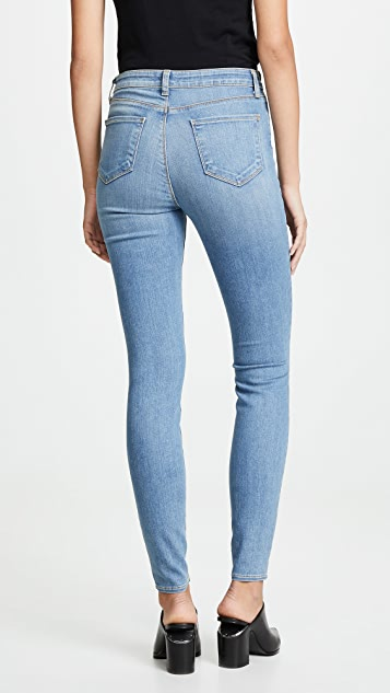 L'AGENCE Marguerite 高腰紧身牛仔裤