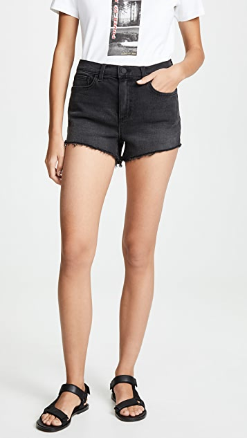 L'AGENCE Ryland High Rise Shorts