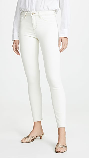 L'AGENCE Tilly Mid Rise Straight Jeans