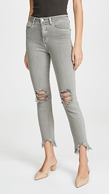 L'AGENCE Highline High Rise Skinny Jeans