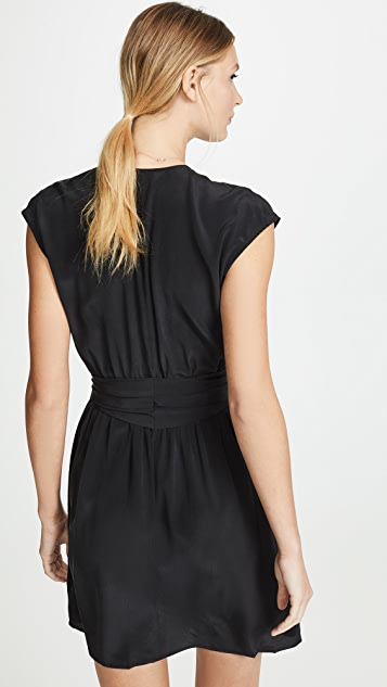L'AGENCE Karina Pleated Dress