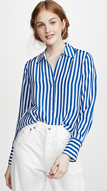 L'agence Tops Brielle Long Sleeve Blouse