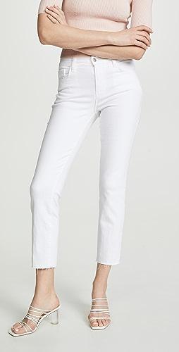 L'AGENCE - Sada High Rise Crop Jeans