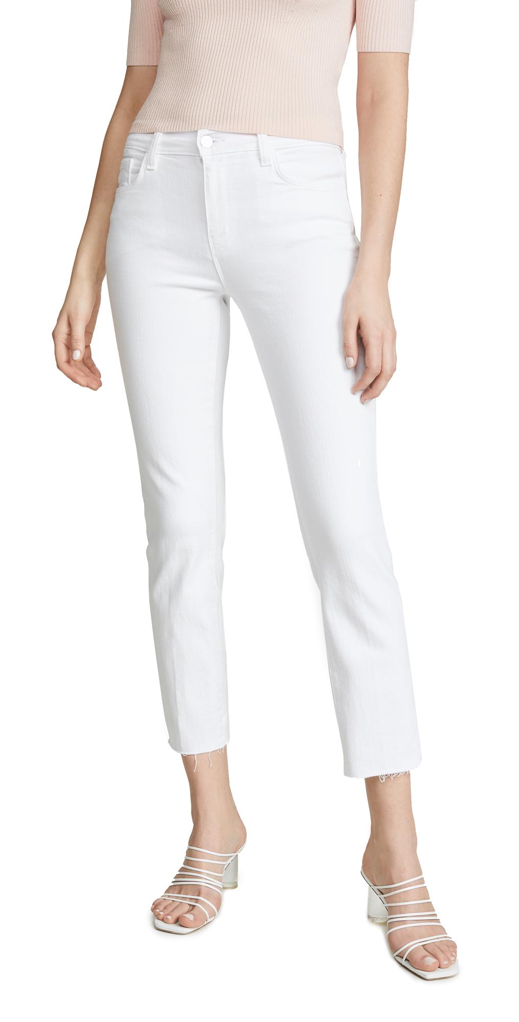 L'AGENCE Sada High Rise Crop Jeans