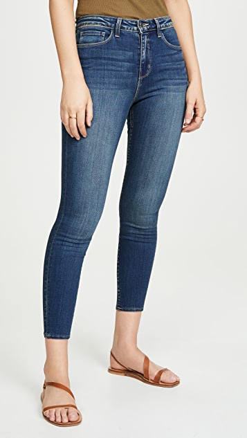 L'AGENCE Margot High Rise Skinny Jeans
