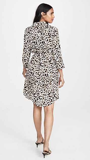 L'AGENCE Stella Short Shirt Dress