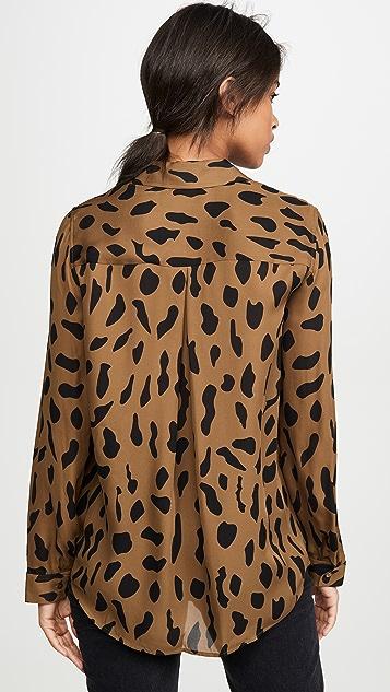 L'AGENCE Nina 长袖女式衬衫