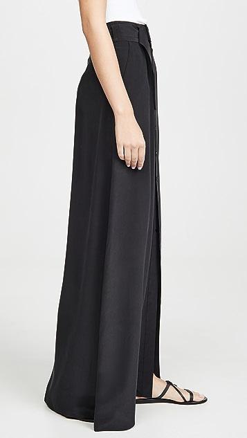 L'AGENCE Bendetta Maxi Skirt