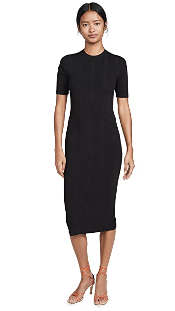 L'AGENCE Koller Sweater Dress