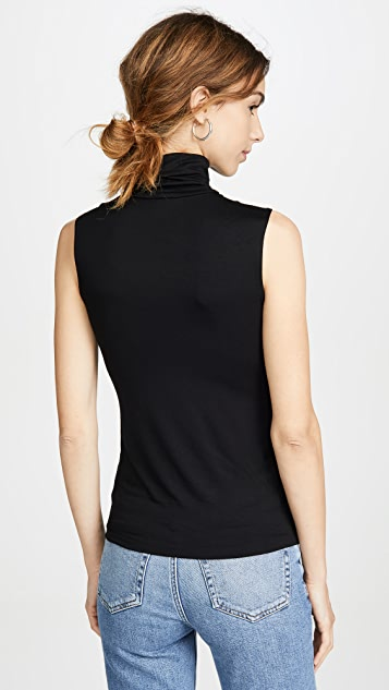 L'AGENCE Ceci Sleeveless Turtleneck