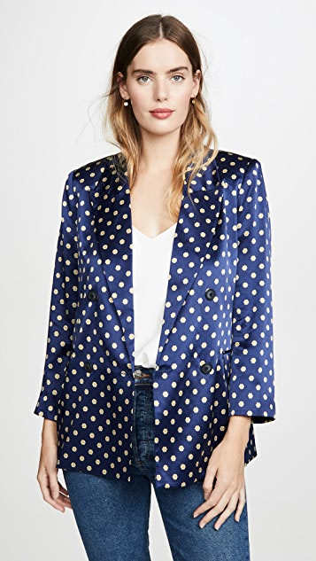 L'agence  Taryn Double Breasted Blazer