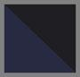 темно-синий/черная полоска