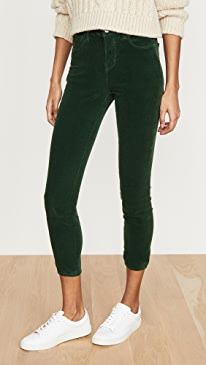 Margot Cord High Rise Skinny Jeans